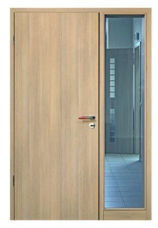 erst milchig wei dann transparent t ren mit schaltbarem glas. Black Bedroom Furniture Sets. Home Design Ideas