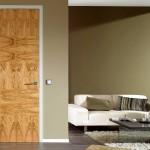 Furnierte Tür