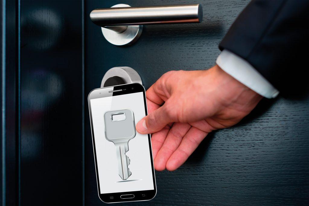 Elektronische Schlüsselkarte