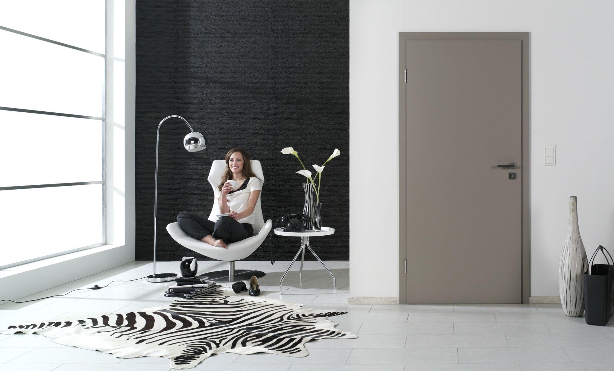 Innentüren grau  Die Tür zum individuellen Wohlfühlambiente