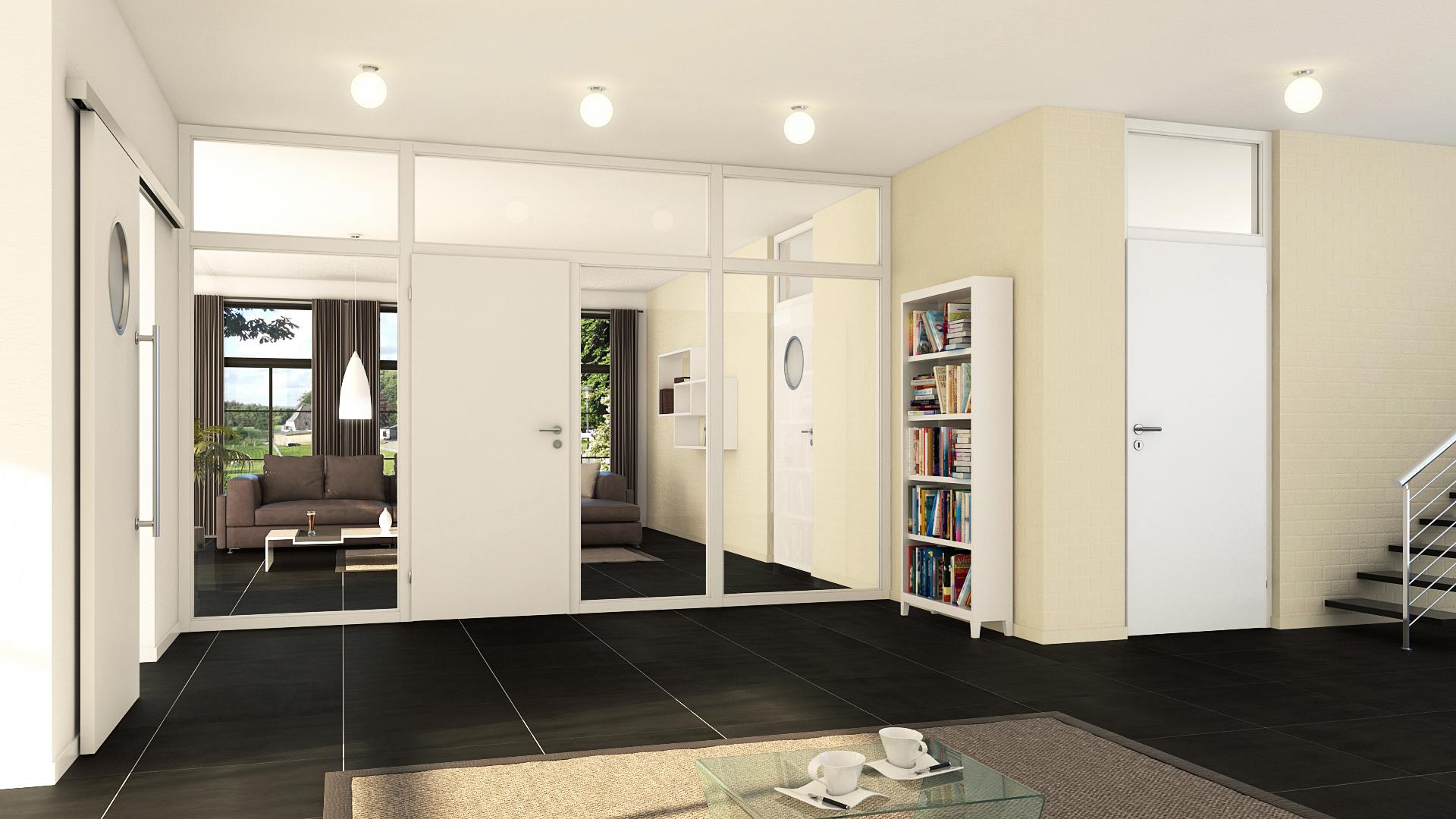 Zimmertüren modern dunkel  Türentrends 2015: Innentüren werden zu wichtigen ...