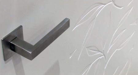 Weißlacktüren mit individueller Lasergravur