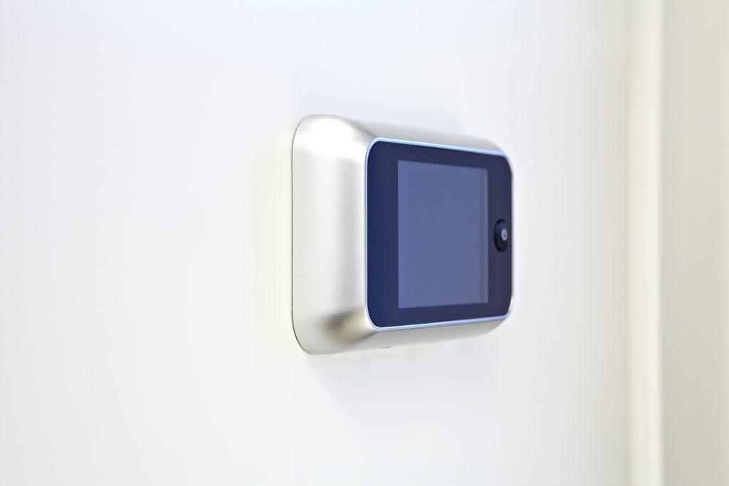 Digitaler Türspion mit Display