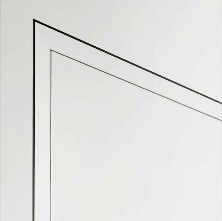 Wandbündiges Türsystem