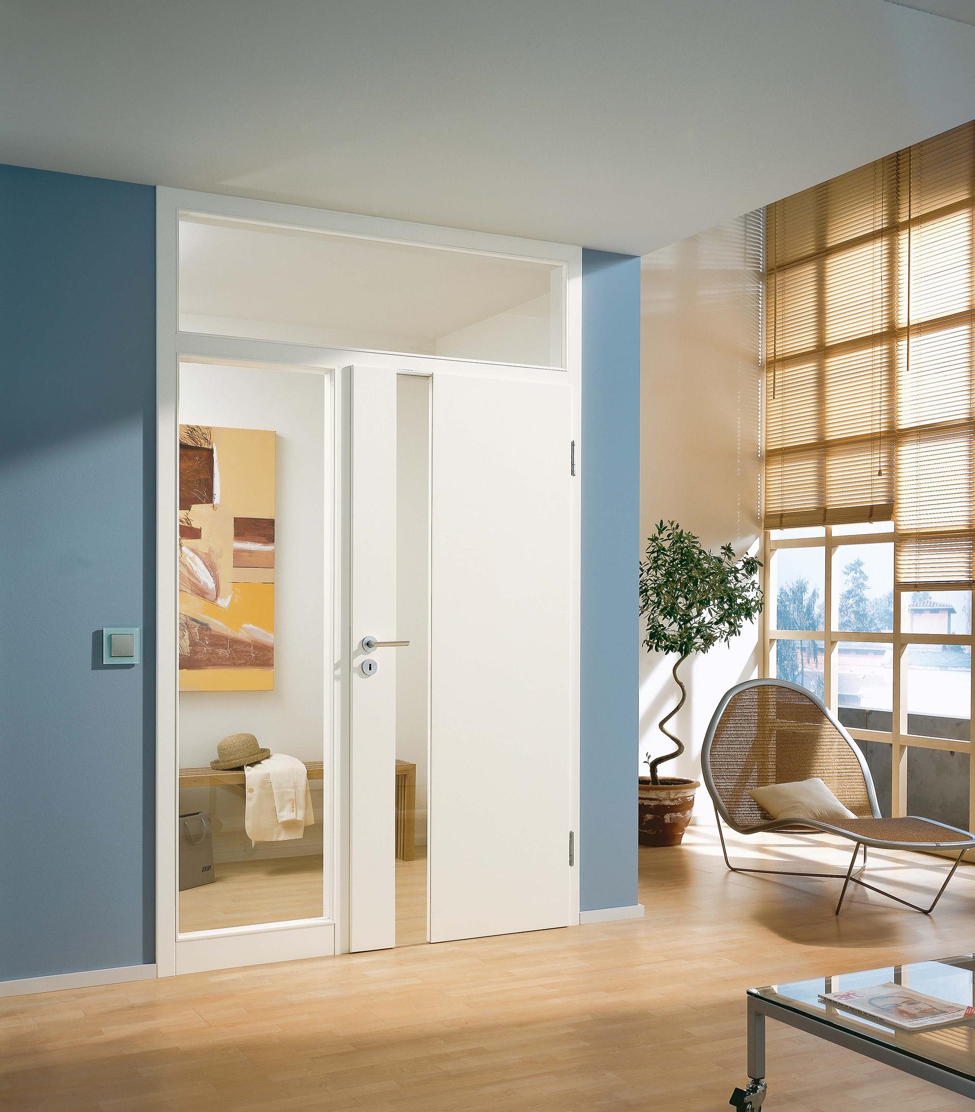 Wandgestaltung und Türenwechsel